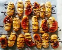 Ricotta Orange Mini Eclairs
