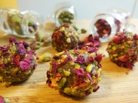 Raw Rose & Cardamom Truffles