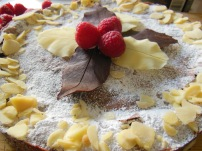 Flourless Chocolate Almond Torte