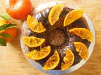 Orange Walnut Chocolate Cake
