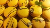 Lemon Mint Macarons